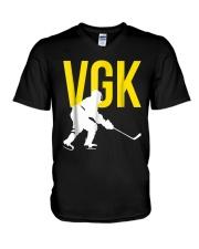 Hockey Golden Knight Tee Shirt V-Neck T-Shirt thumbnail