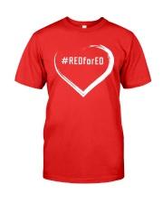 Hashtag RedForEd Shirt Premium Fit Mens Tee thumbnail