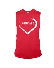 Hashtag RedForEd Shirt Sleeveless Tee thumbnail