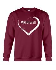 Hashtag RedForEd Shirt Crewneck Sweatshirt thumbnail