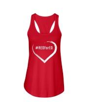 Hashtag RedForEd Shirt Ladies Flowy Tank thumbnail