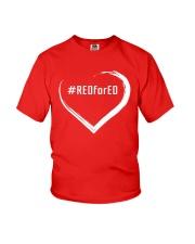 Hashtag RedForEd Shirt Youth T-Shirt thumbnail