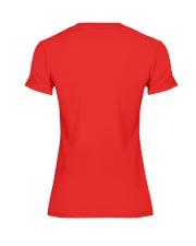 Hashtag RedForEd Shirt Premium Fit Ladies Tee back