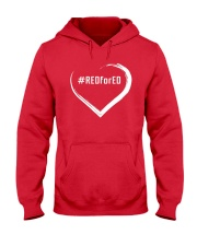 Hashtag RedForEd Shirt Hooded Sweatshirt thumbnail