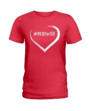 Hashtag RedForEd Shirt Ladies T-Shirt thumbnail