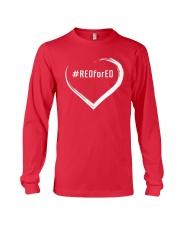 Hashtag RedForEd Shirt Long Sleeve Tee thumbnail