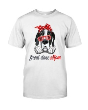 Great Dane Mom Lovers T-Shirt Classic T-Shirt thumbnail