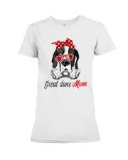 Great Dane Mom Lovers T-Shirt Premium Fit Ladies Tee thumbnail