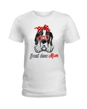 Great Dane Mom Lovers T-Shirt Ladies T-Shirt front