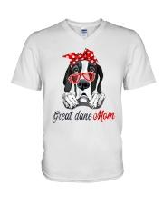 Great Dane Mom Lovers T-Shirt V-Neck T-Shirt thumbnail
