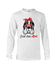 Great Dane Mom Lovers T-Shirt Long Sleeve Tee thumbnail
