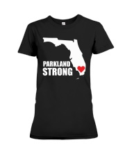Parkland Strong Shooting T-Shirt Premium Fit Ladies Tee thumbnail