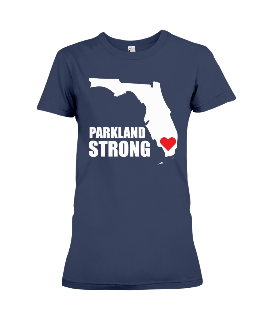 Parkland Strong Shooting T-Shirt Premium Fit Ladies Tee