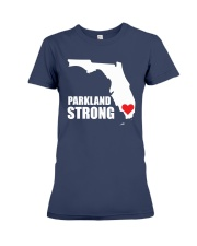 Parkland Strong Shooting T-Shirt Premium Fit Ladies Tee front