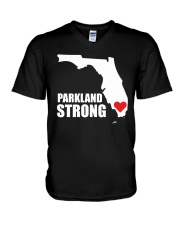 Parkland Strong Shooting T-Shirt V-Neck T-Shirt thumbnail