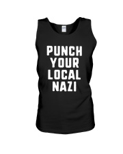 Punch Your Local Nazi T-Shirt Unisex Tank thumbnail