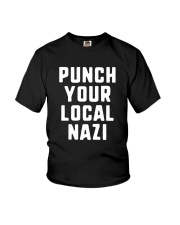 Punch Your Local Nazi T-Shirt Youth T-Shirt tile