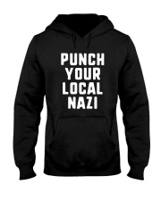 Punch Your Local Nazi T-Shirt Hooded Sweatshirt tile