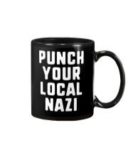 Punch Your Local Nazi T-Shirt Mug thumbnail