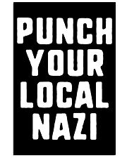 Punch Your Local Nazi T-Shirt 24x36 Poster thumbnail