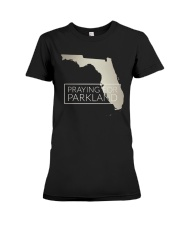 Pray for Parkland Tee Shirt Premium Fit Ladies Tee front