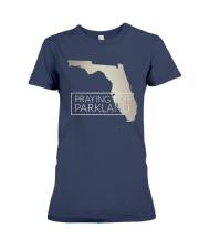 Pray for Parkland Tee Shirt Premium Fit Ladies Tee front