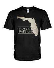 Pray for Parkland Tee Shirt V-Neck T-Shirt thumbnail