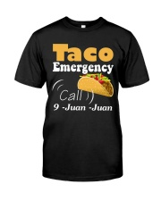 Taco Emergency Call 9 Juan Juan Tee Premium Fit Mens Tee thumbnail