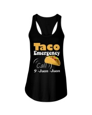 Taco Emergency Call 9 Juan Juan Tee Ladies Flowy Tank thumbnail