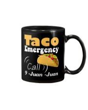 Taco Emergency Call 9 Juan Juan Tee Mug thumbnail