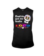 Dad Life Feelin' Un Poco Loco Tee Shirt Sleeveless Tee thumbnail