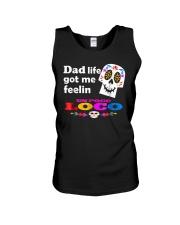 Dad Life Feelin' Un Poco Loco Tee Shirt Unisex Tank thumbnail