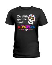 Dad Life Feelin' Un Poco Loco Tee Shirt Ladies T-Shirt thumbnail