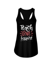 Teach Love Inspire Teacher Teaching T-Shirt Ladies Flowy Tank thumbnail