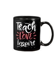Teach Love Inspire Teacher Teaching T-Shirt Mug thumbnail