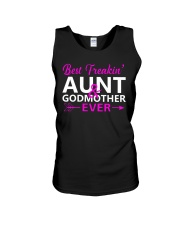 Freakin Aunt And Godmother Shirt Unisex Tank thumbnail