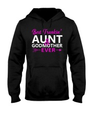 Freakin Aunt And Godmother Shirt Hooded Sweatshirt thumbnail
