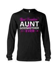 Freakin Aunt And Godmother Shirt Long Sleeve Tee thumbnail