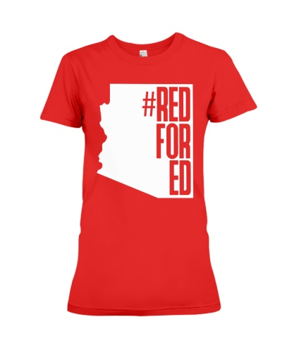 Red for Ed Arizona Teacher Shirt