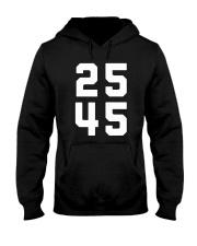 25 45 - 25th Amendment T-shirt Hooded Sweatshirt thumbnail