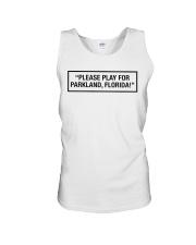Please Play For Parkland Florida T-Shirt Unisex Tank thumbnail