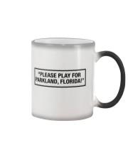 Please Play For Parkland Florida T-Shirt Color Changing Mug thumbnail