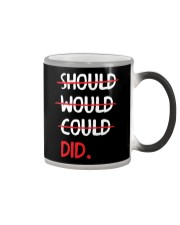 Should Would Could Did T-Shirt Color Changing Mug thumbnail