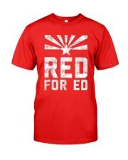 Red for Ed Shirt Classic T-Shirt thumbnail
