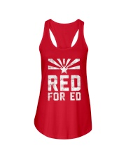 Red for Ed Shirt Ladies Flowy Tank thumbnail