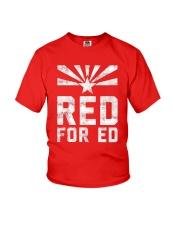 Red for Ed Shirt Youth T-Shirt thumbnail