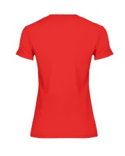 Red for Ed Shirt Premium Fit Ladies Tee back