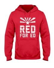 Red for Ed Shirt Hooded Sweatshirt thumbnail
