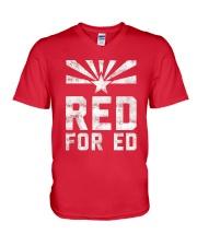 Red for Ed Shirt V-Neck T-Shirt thumbnail
