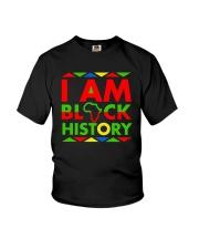 I am Black History Month T-Shirt Youth T-Shirt thumbnail